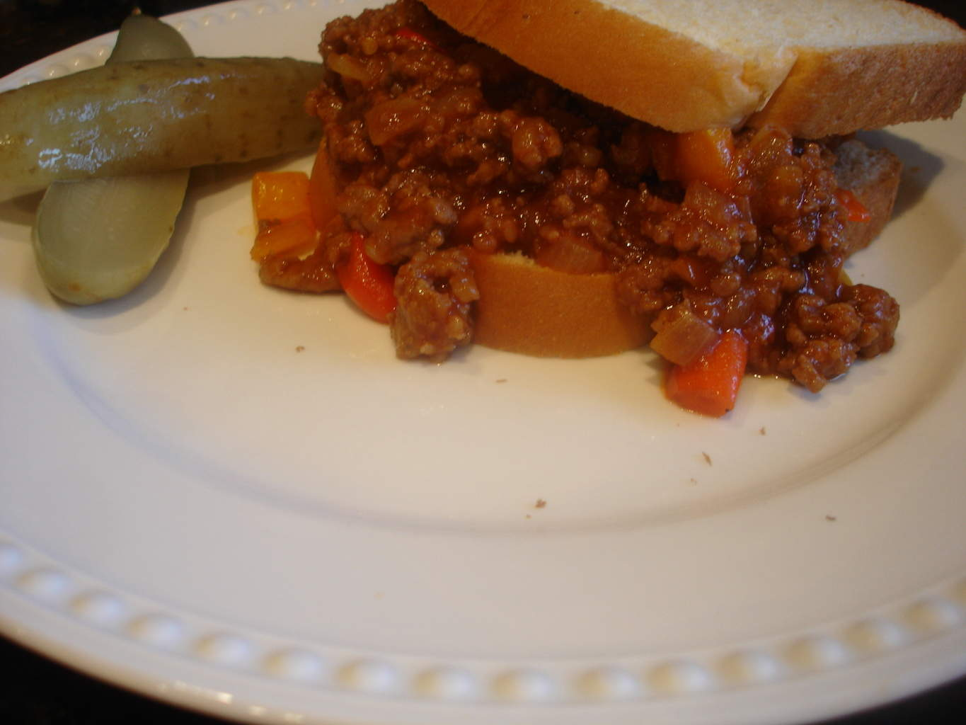 Sloppy Joe Redux (recipe: Two-Meat Sloppy Joes) | Syrup and Biscuits