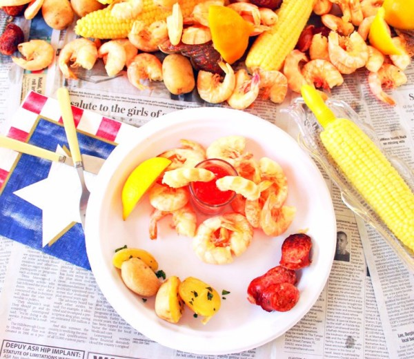 Frogmore Stew with Homemade Cocktail Sauce
