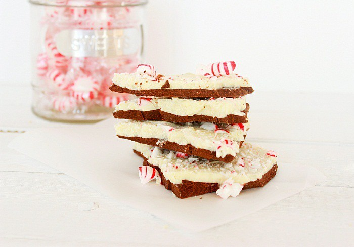 Peppermint Bark. Easy to make and great for gifts.