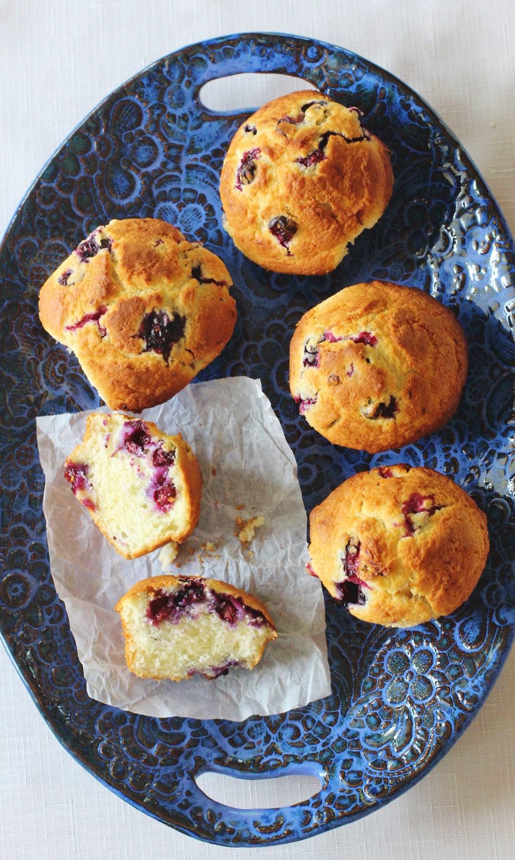 Blueberry Buttermilk Muffins