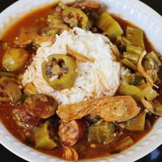 turkey sausage gumbo (2)