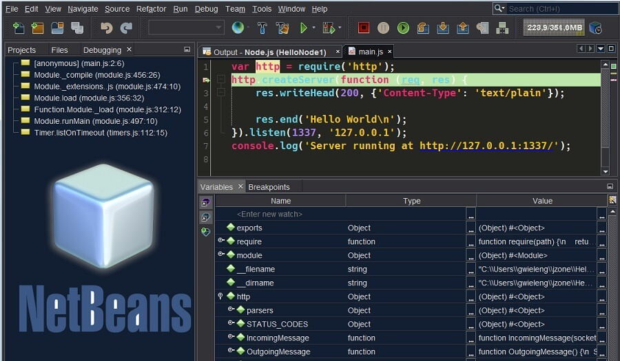 download netbeans ide 8.2 for windows