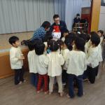 ロボット【Pepper(ペッパー)】子供達と一緒にあわてんぼうのサンタクロースを歌ってきました♪慈生園(福岡)
