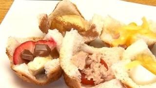 【キスマイBUSAIKU】たこ焼き器レシピ!藤ヶ谷太輔『カップでサンド』の作り方!