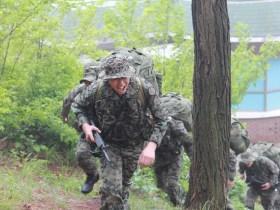 行軍は肉体的にも精神的にもきつい訓練だ(写真/韓国陸軍公式サイトより)