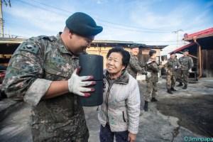 対民支援は重要な軍務の1つだ(写真/韓国陸軍公式サイトより)