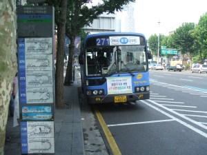 韓国のバスは日本と比べて運賃は安いのだが……