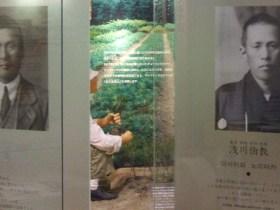 肖像写真の右が兄の伯教、左が巧
