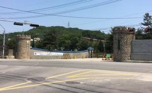 第26師団の正面入口