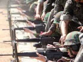 動員訓練では射撃の腕を取り戻すことに主眼が置かれる