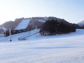 2018年2月に冬季五輪が開催される平昌(ピョンチャン)のスキー場