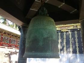 朝鮮王朝が徳川幕府に贈った鐘が東照宮に現存している