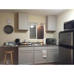 Small Crop Of Studio Apartment With Kitchenette