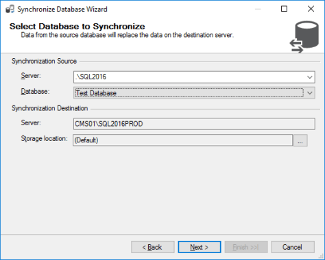 Synchronization Source Selection