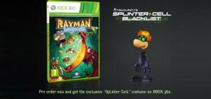 Rayman Legends - Splinter Cell Skin