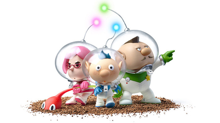 ピクミン3 - アルフ、ブリトニー、チャーリー