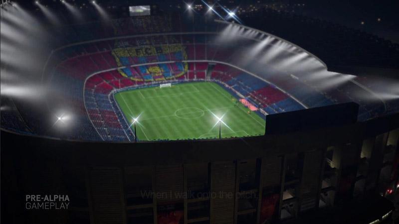 FIFA 14 Camp Nou