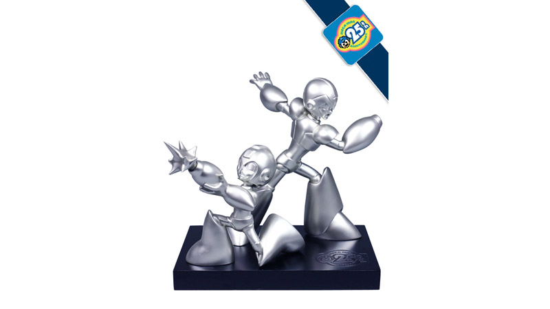 Mega Man 25th Anniversary Statue.