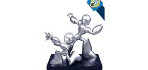 Mega Man 25th Anniversary Statue.