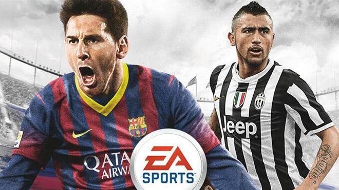 中南米版FIFA 14カバー