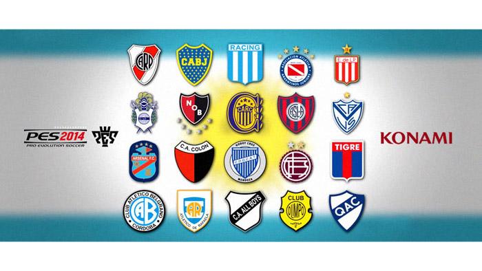 PES 2014 - アルゼンチンリーグ