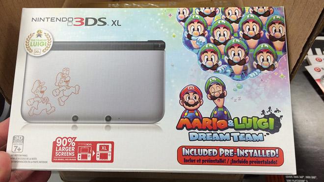 Nintendo 3DS XL - Mario & Luigi: Dream Team