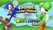 Wii U版『ソニック ロストワールド』の『ヨッシー』コラボDLC、『ヨッシーアイランド Zone』が配信開始