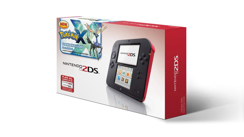 Nintendo 2DS - Pokemon X/Y