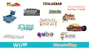 Wii U eShop 主要ラインナップ