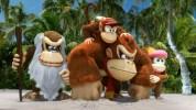 Wii U『ドンキーコング トロピカルフリーズ』、ザ・スノーマッズの来襲とドンキーのパートナーキャラを紹介するお馴染みの実写+CG合成による北米版TVCM