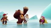 """ドンキーコングファミリーとザ・スノーマッズがゆるく相まみえる、Wii U『ドンキーコング トロピカルフリーズ』の英版""""Breaking the ice""""トレーラー"""