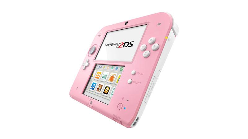 Nintendo 2DS Pink + White