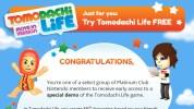 米任天堂、クラブニンテンドー会員向けに3DS『Tomodachi Life(トモダチコレクション 新生活)』の体験版を配信