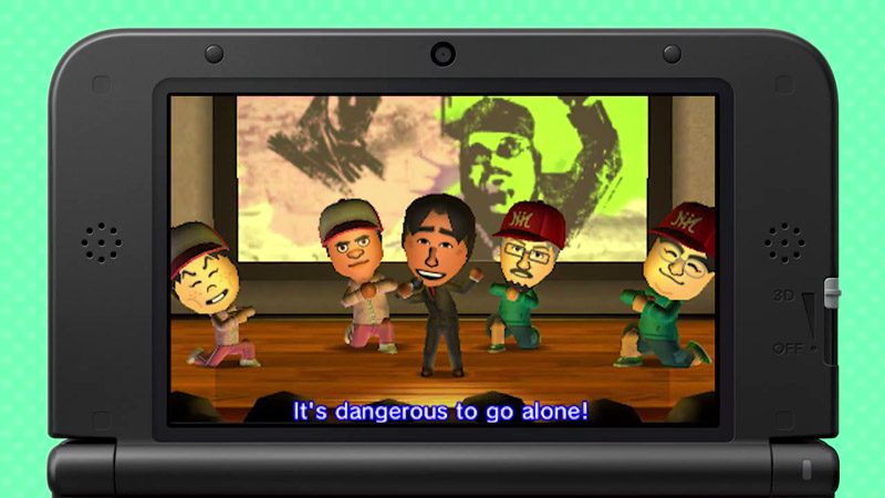 Tomodachi Life - The Rules of Zelda