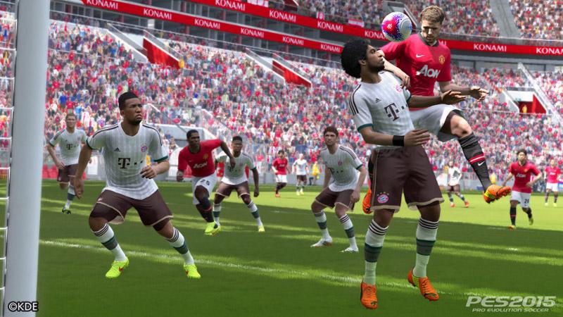 PS4/XboxOneにも対応する『PES 2015(ウイイレ2015)』のゲーム詳細第1弾が発表。