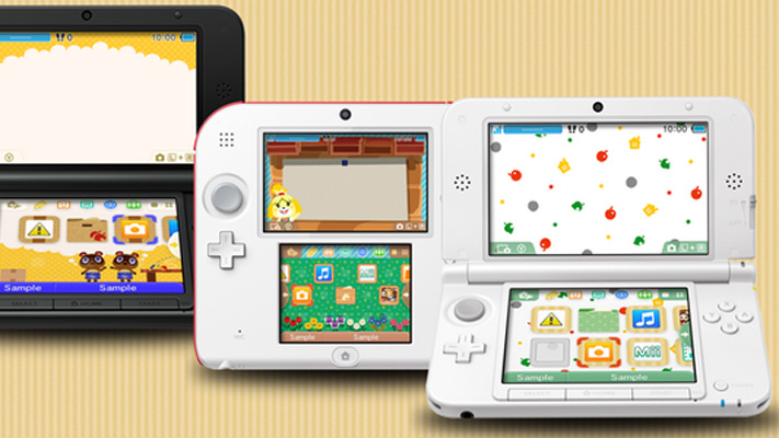 3DS HOME Themes - Animal Crossing: New Leaf