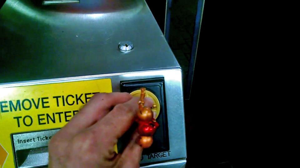 Does Amiibo work with the Boston subway?