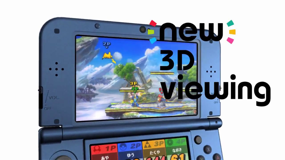 New3DS - 3Dブレ防止機能