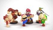 WiiU『ヨッシーウールワールド』×『amiibo』、40以上のキャラクターに対応する変幻自在のヨッシーバリエーション