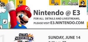 任天堂 @ E3 2015 スケジュール