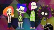 WiiU『スプラトゥーン』のバトルBGMを演奏する4人組バンド「Squid Squad」