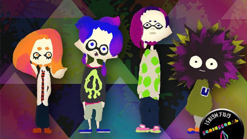 Splatoon - Squid Squad