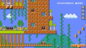 "WiiU『スーパーマリオメーカー』、キャラマリオ『ドンキーコング』に合わせたコース製作例""Kong Country"""