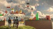 WiiU『スーパーマリオメーカー』北米版TVCM、NoAお得意のCG+実写合成