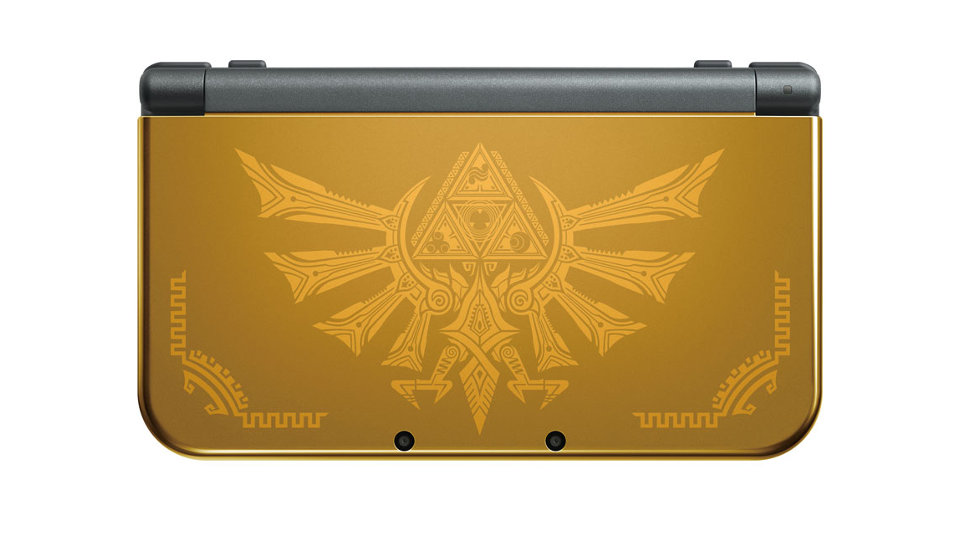 New Nintendo 3DS XL - Hyrule Edition