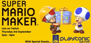 Super Mario Maker Live on Twitch