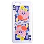 干渉防止シート付 カード収納カスタムカバー iPhone 6s/6 星のカービィ(トランプ)