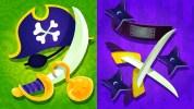 WiiU『スプラトゥーン』北米第7回フェスはハロウィンに合わせて「海賊 vs 忍者」