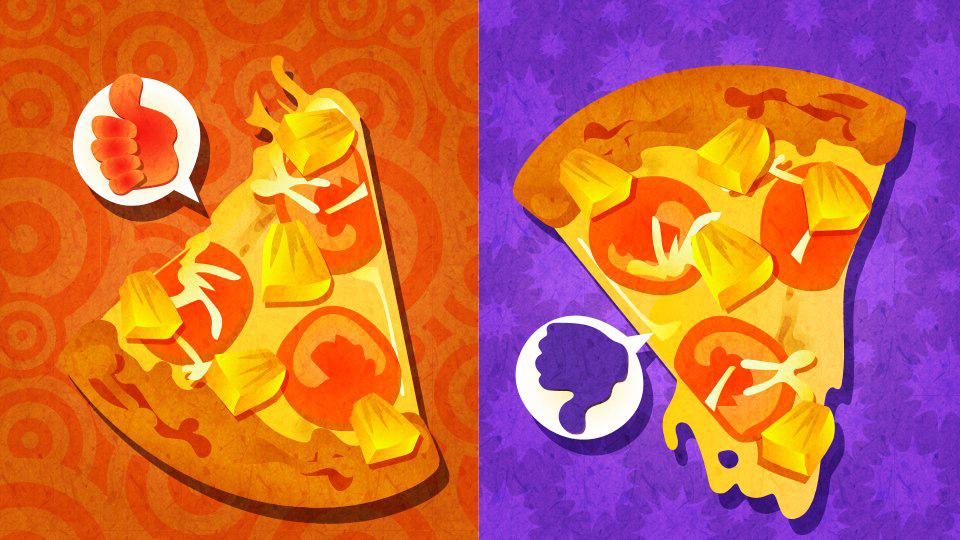 スプラトゥーン - 欧州第8回フェス「ピザの具にパイナップル あり or なし」