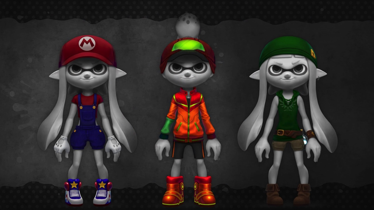 ファンアート:Nintendo Splatoon Amiibo Gear Concepts